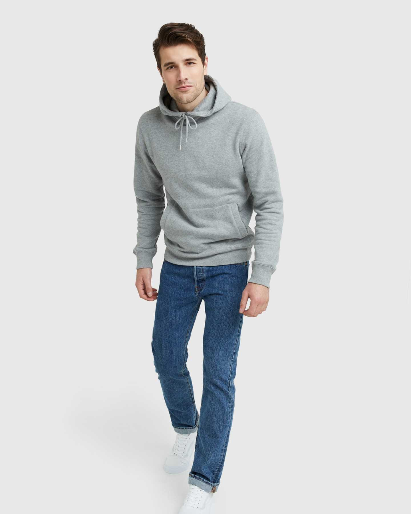 Organic Heavyweight Fleece Hoodie - undefined - 6