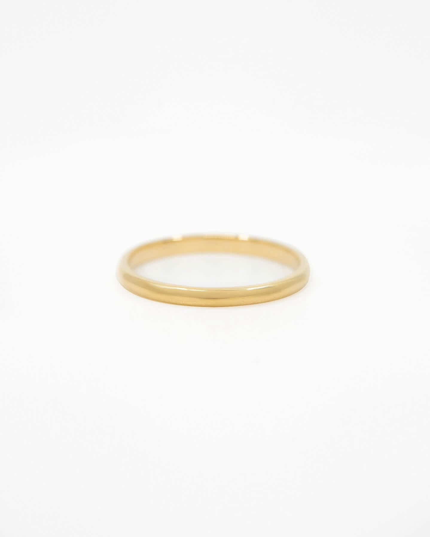 Pair With - 14k Gold Classic Band - Yellow Gold