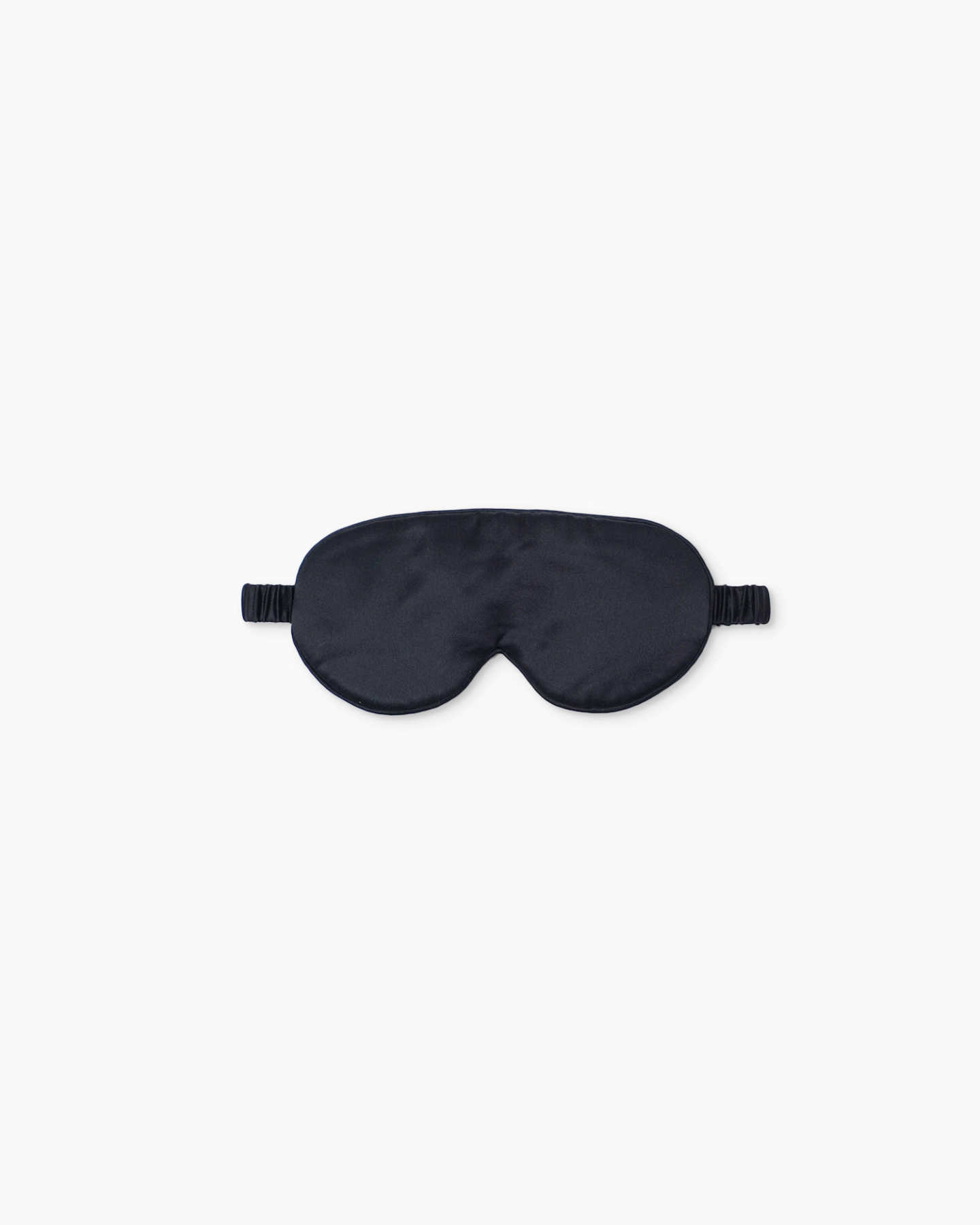 Mulberry Silk Beauty Sleep Mask - Black - 1