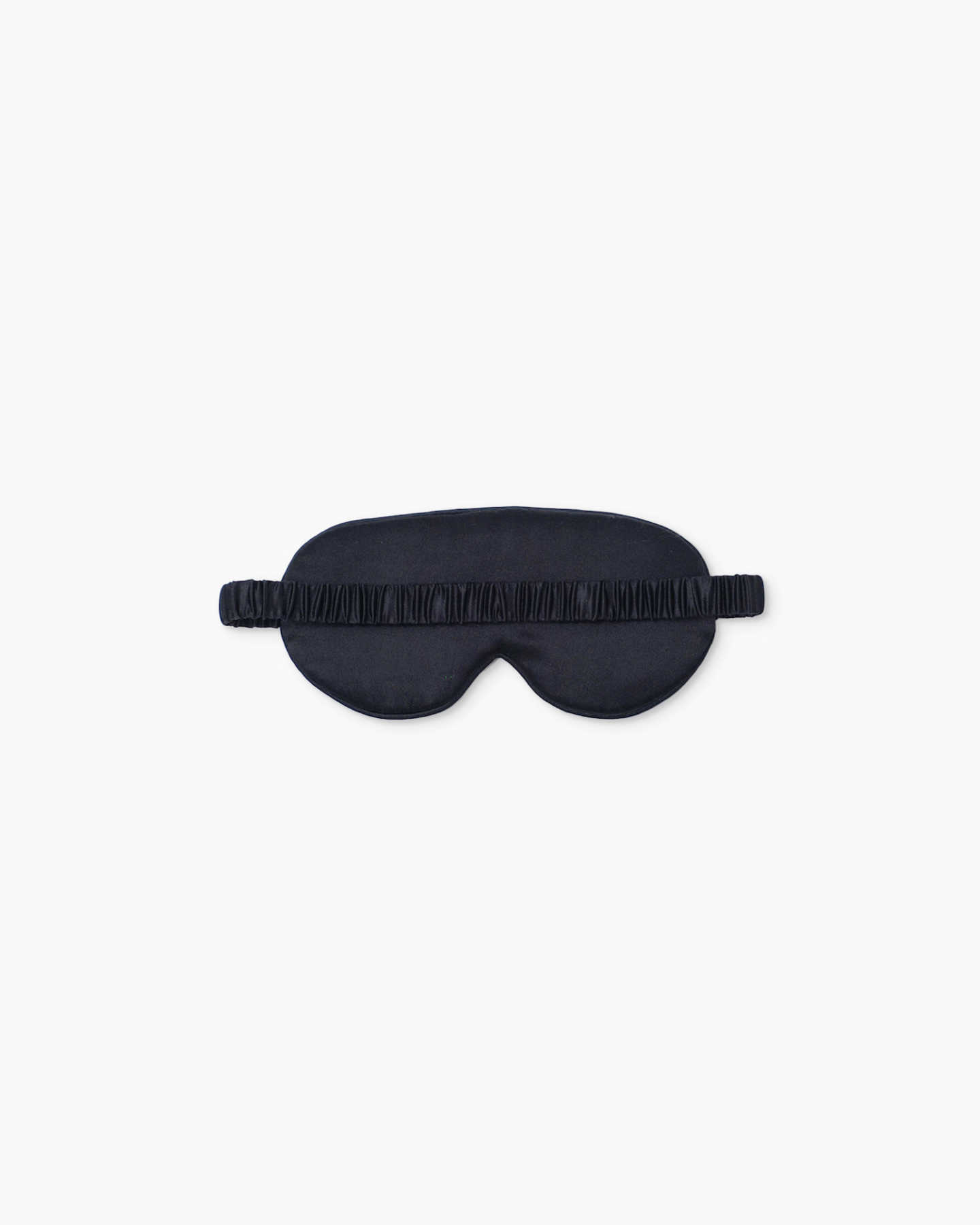 Mulberry Silk Beauty Sleep Mask - Black - 2