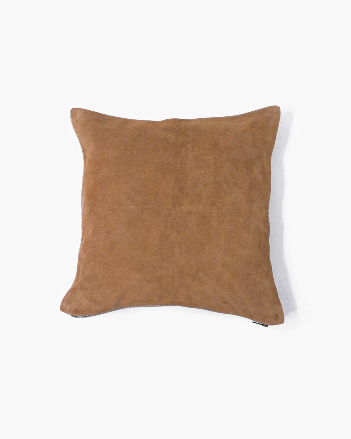 Premium Suede Pillow Cover - Camel