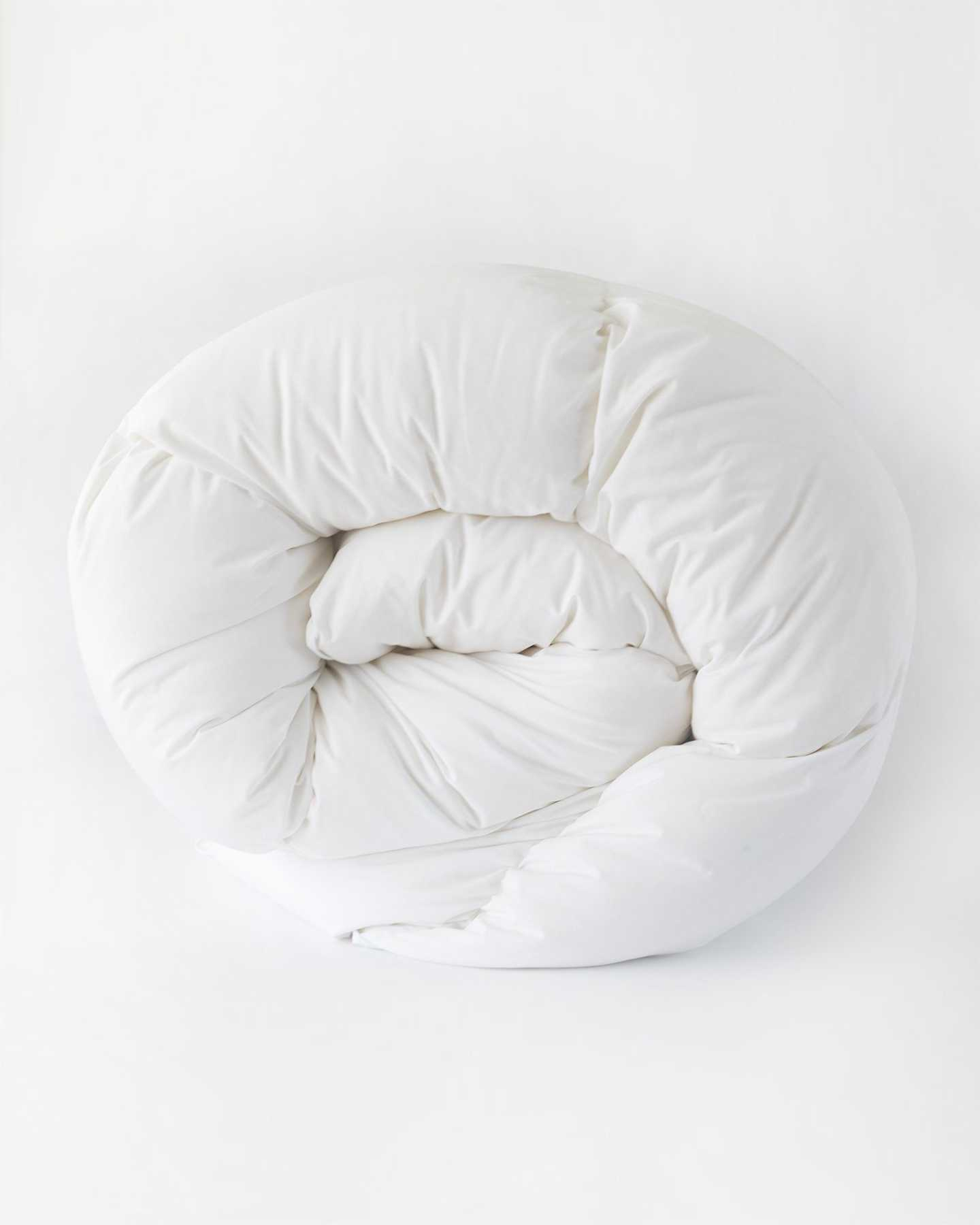 All-Season Premium Down Comforter - White