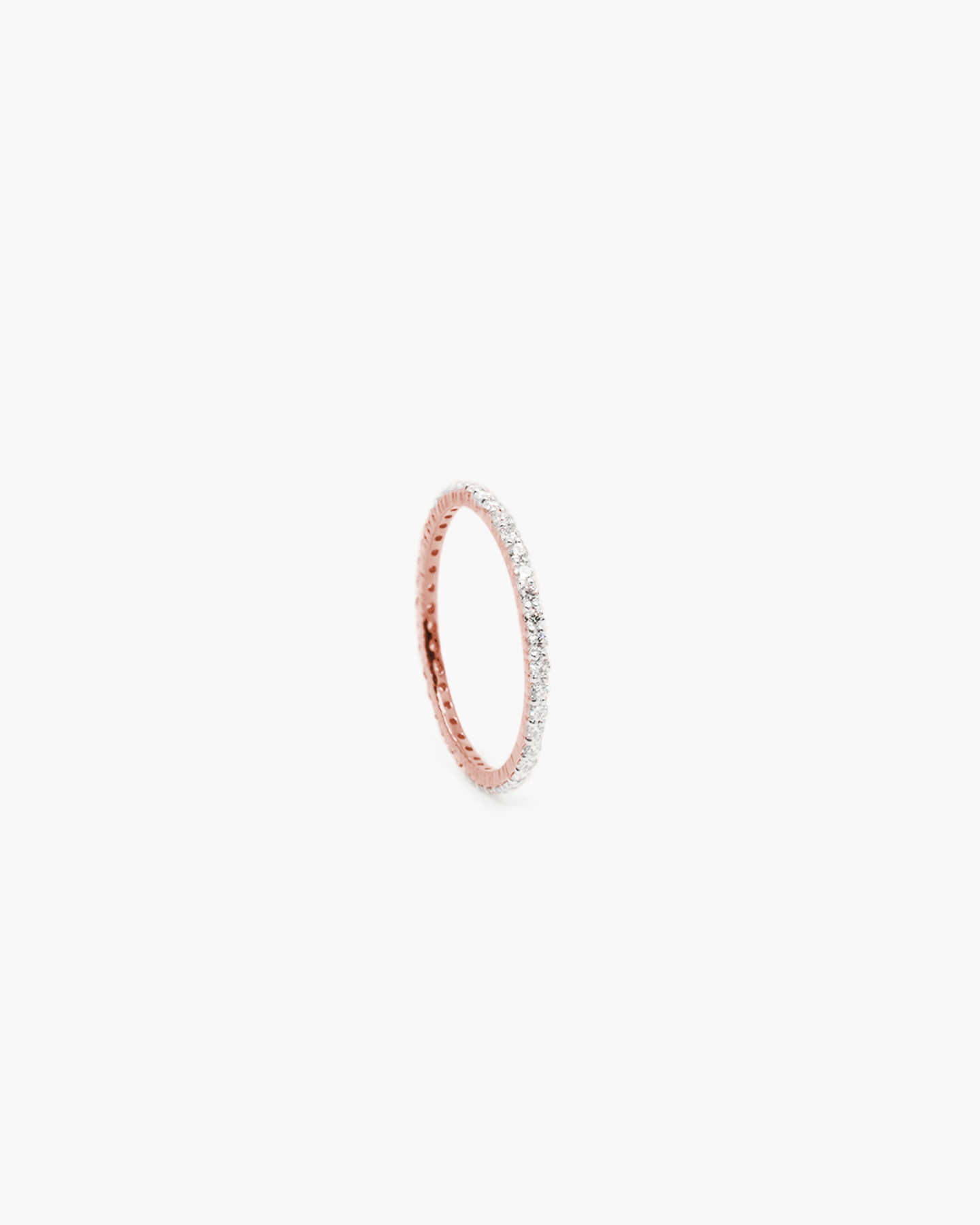 Diamond Eternity Ring - Rose Gold