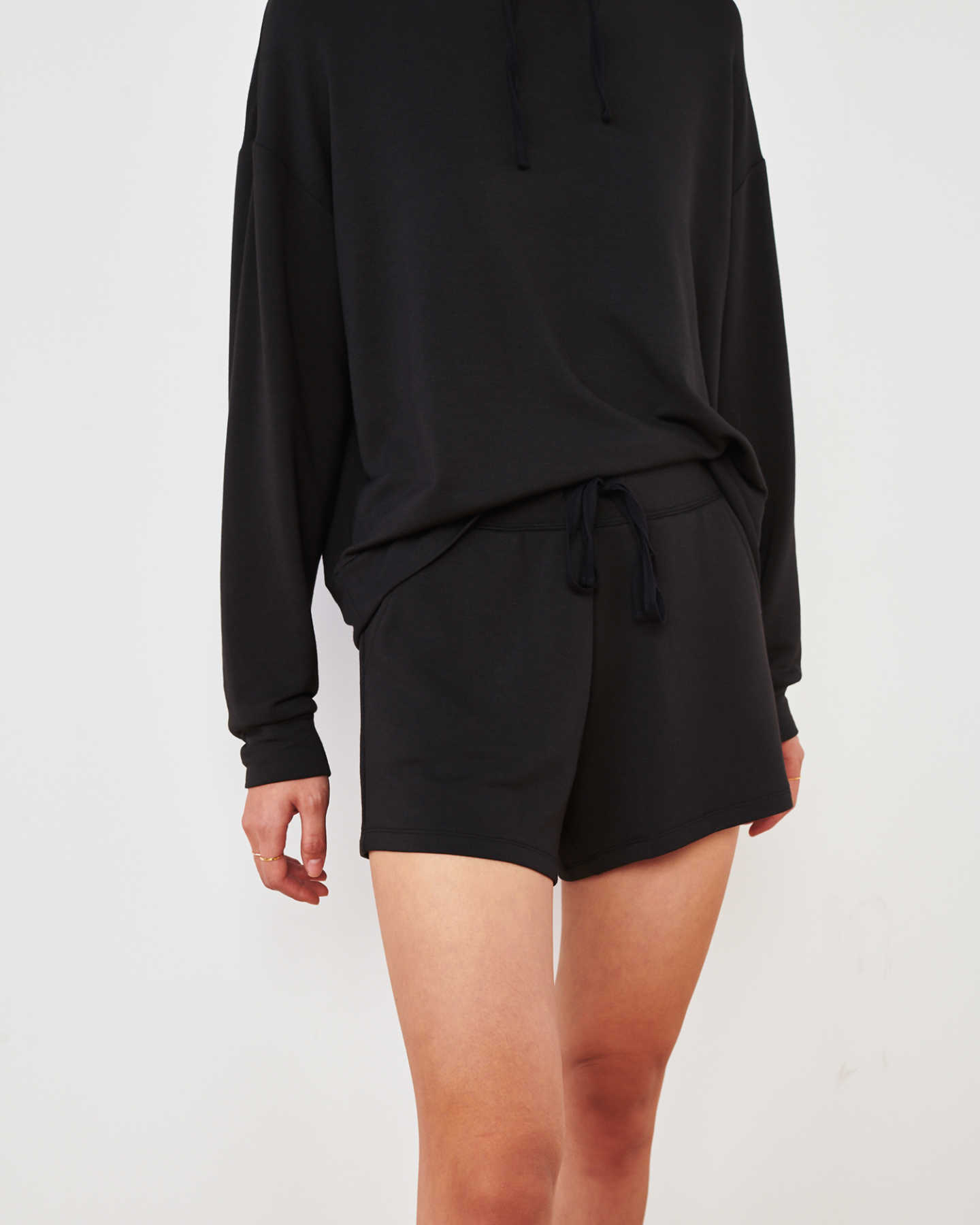 Pair With - SuperSoft Fleece Shorts - Black