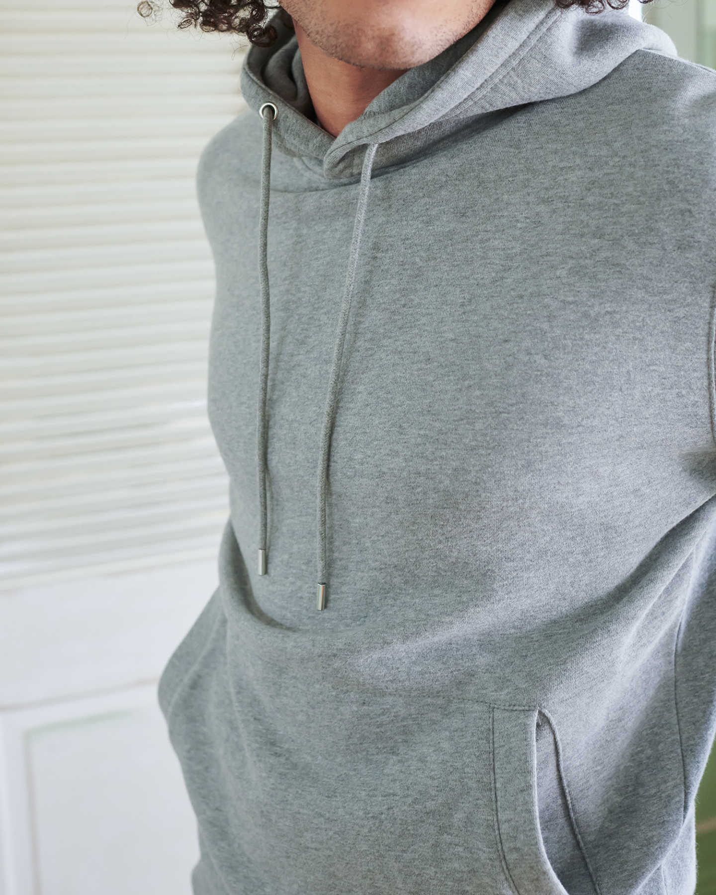 Organic Heavyweight Fleece Hoodie - undefined - 4