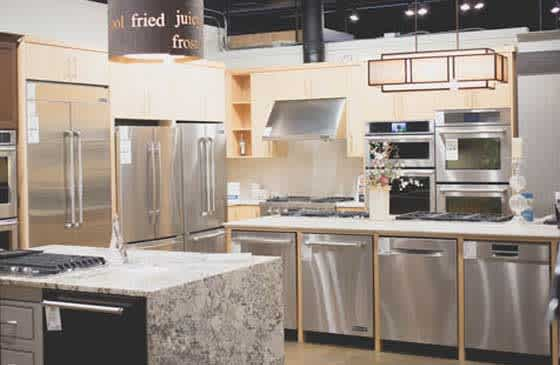 Ferguson showroom with appliances available