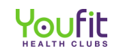 YouFit Health Clubs logo