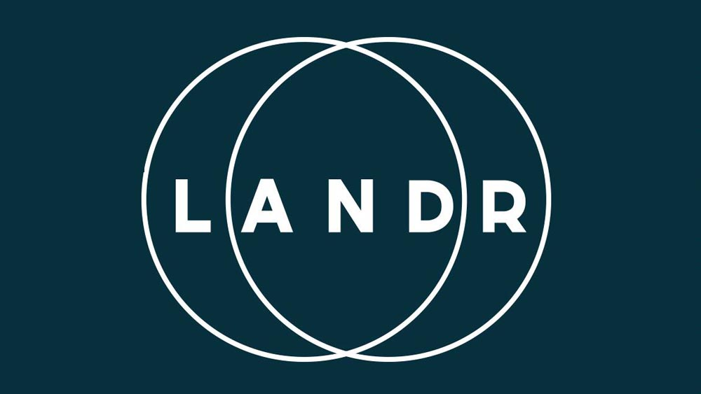 Illustration du logo Landr