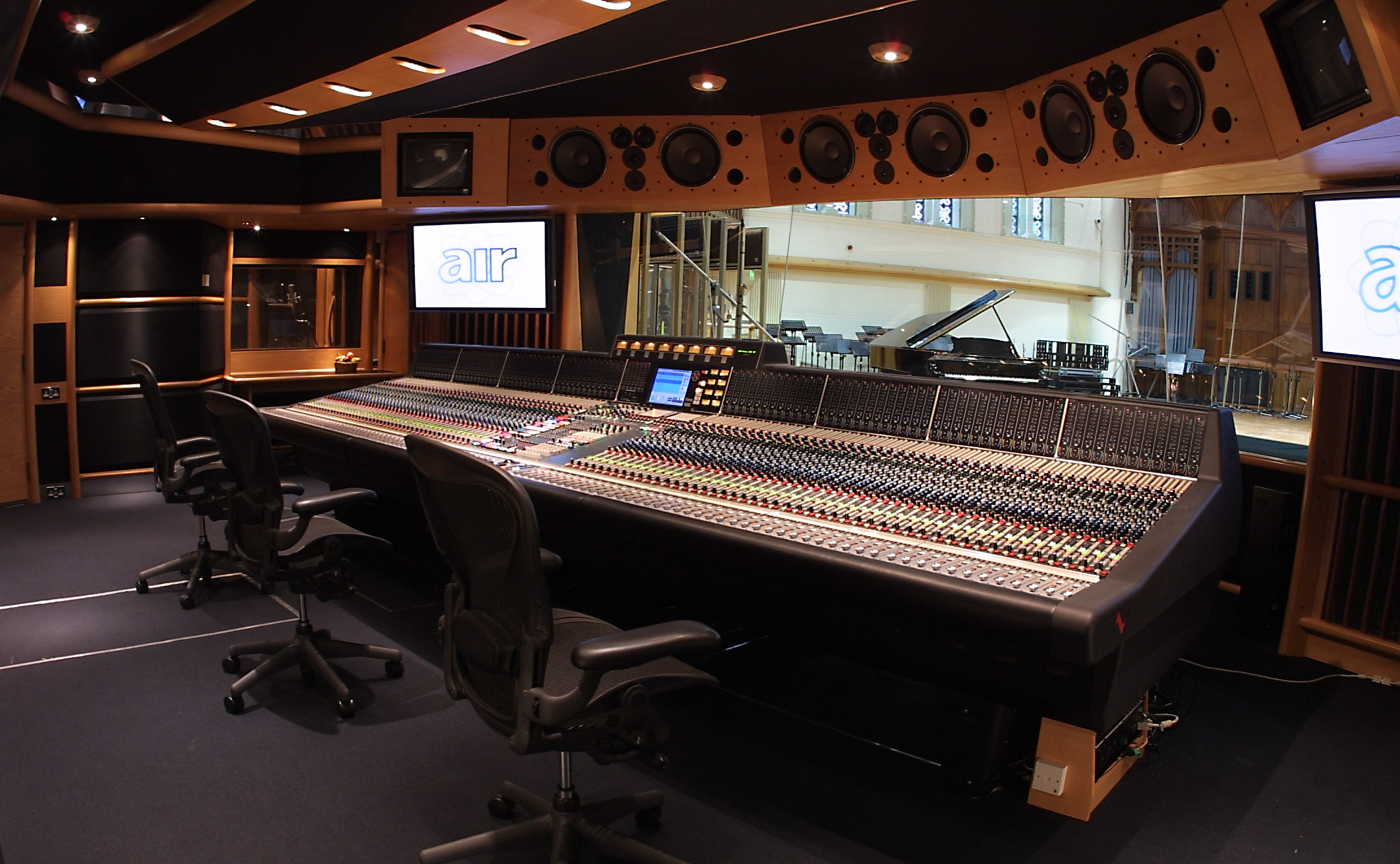 Top 10 des Home Studios les plus incroyables ! Air Studio