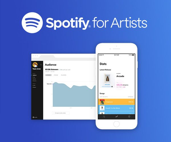 Illustration pour Spotify for Artists