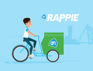 Groceries delivered within two hours with Rappie | M2mobi