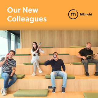 We've added two new colleagues and two new interns to our team! | M2mobi