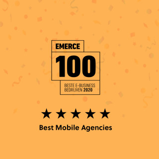 M2mobi again in top 3 of Mobile Agency's Emerce100 | M2mobi Amsterdam