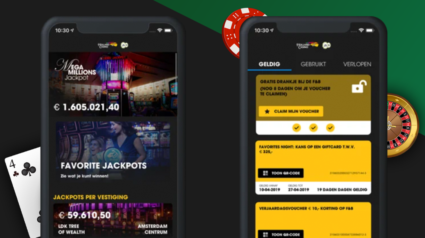 Holland Casino Favorites App | M2mobi