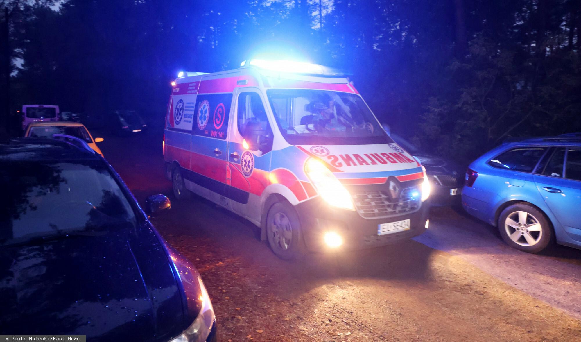Wypadek przy pracy w Ostrołęce