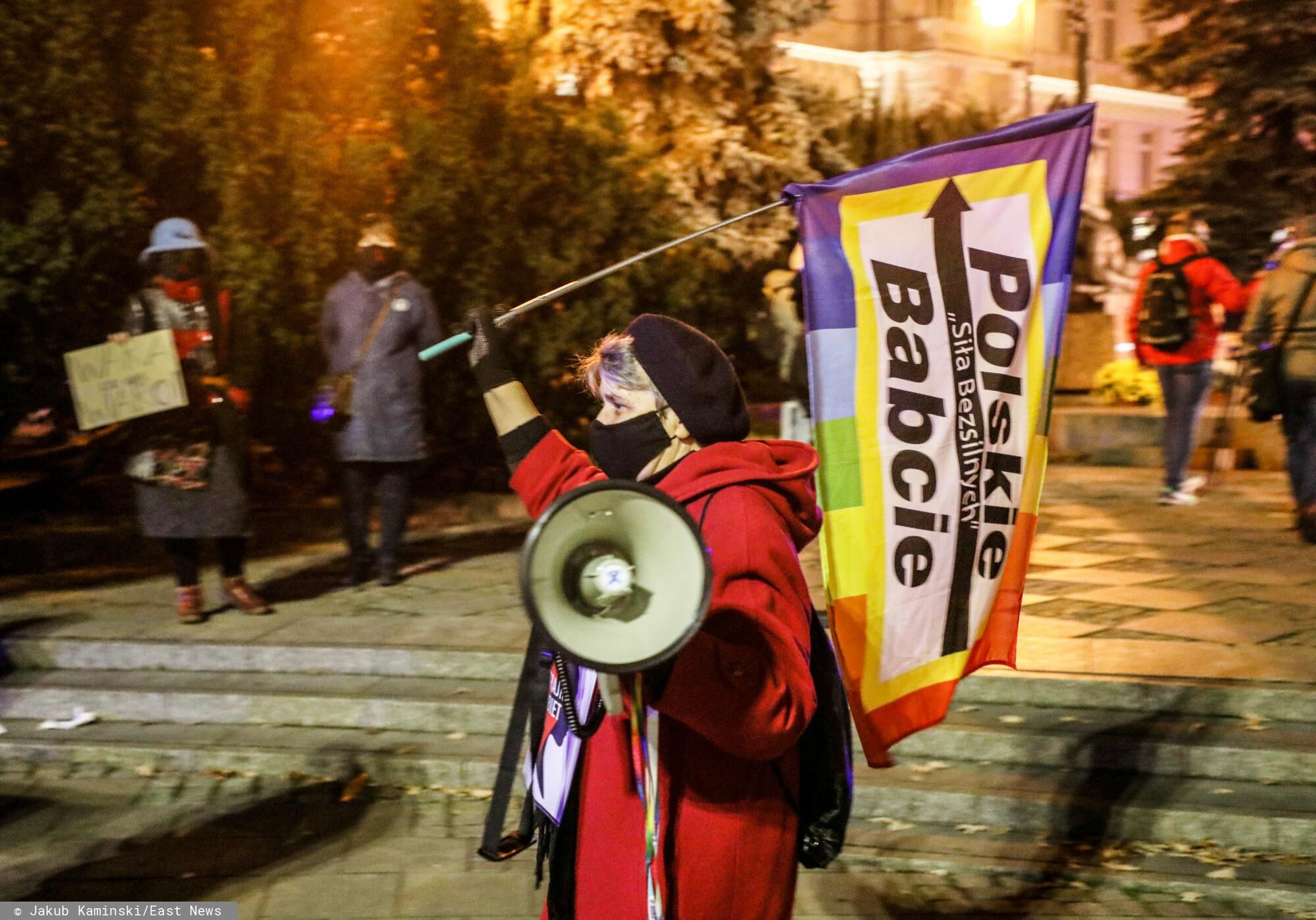 Polska Babcia zatrzymana w sobotę przez policję usłyszała wczoraj absurdalne zarzuty.