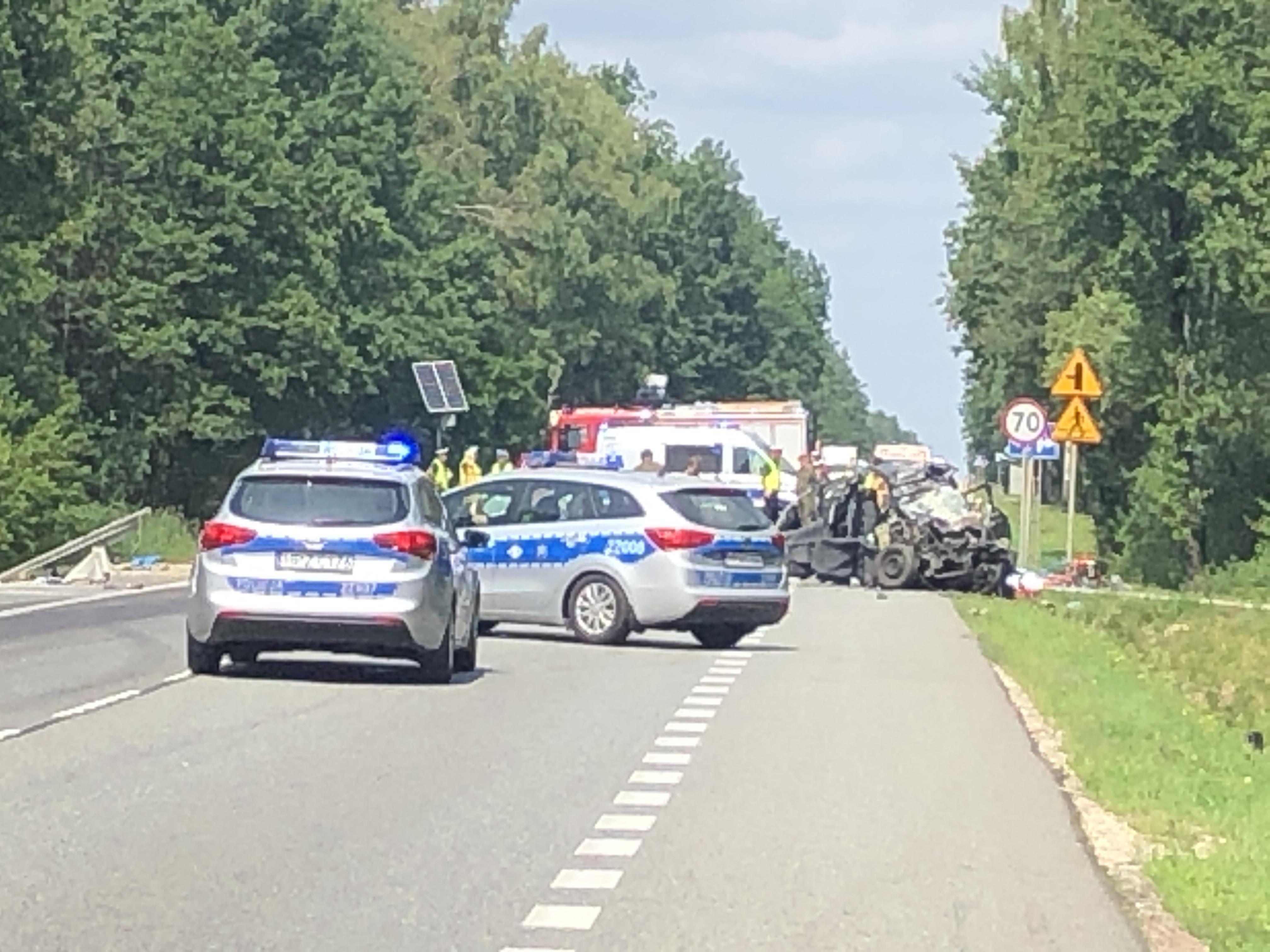 Śmiertelny wypadek w Grębiszewie