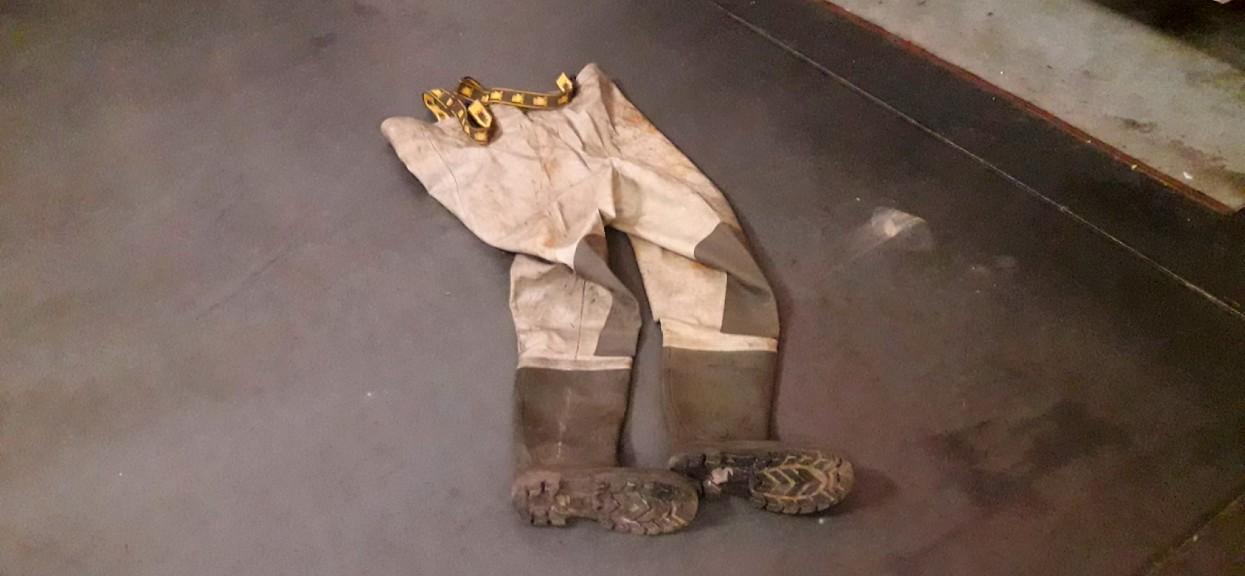 spodniobuty strażackie