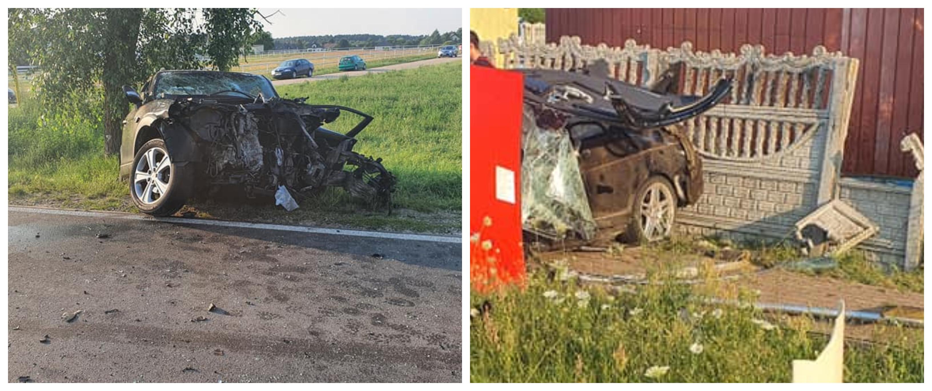 Wypadek w Skrzeszewie