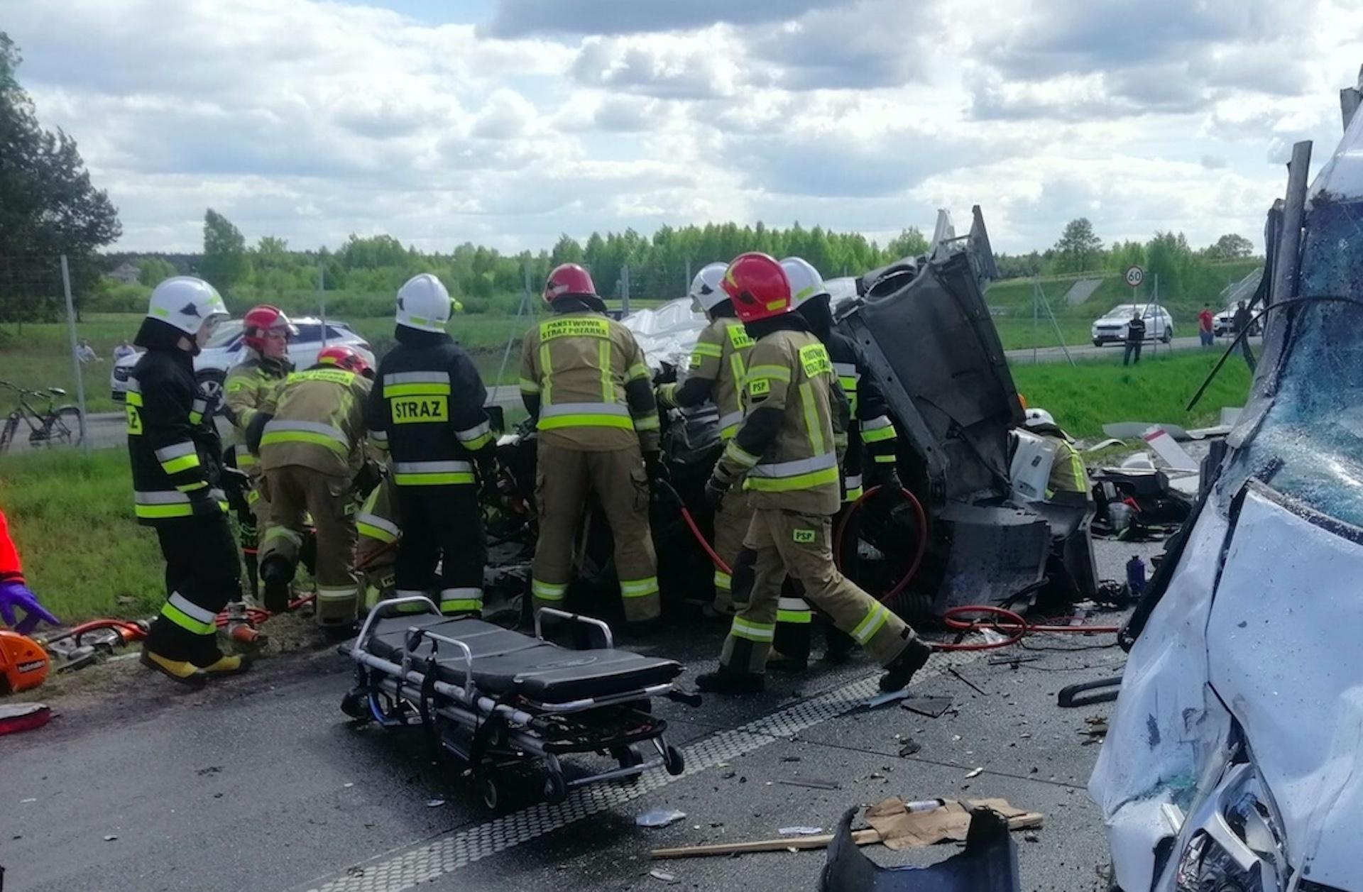 W Grębiszewie doszło do tragicznego wypadku