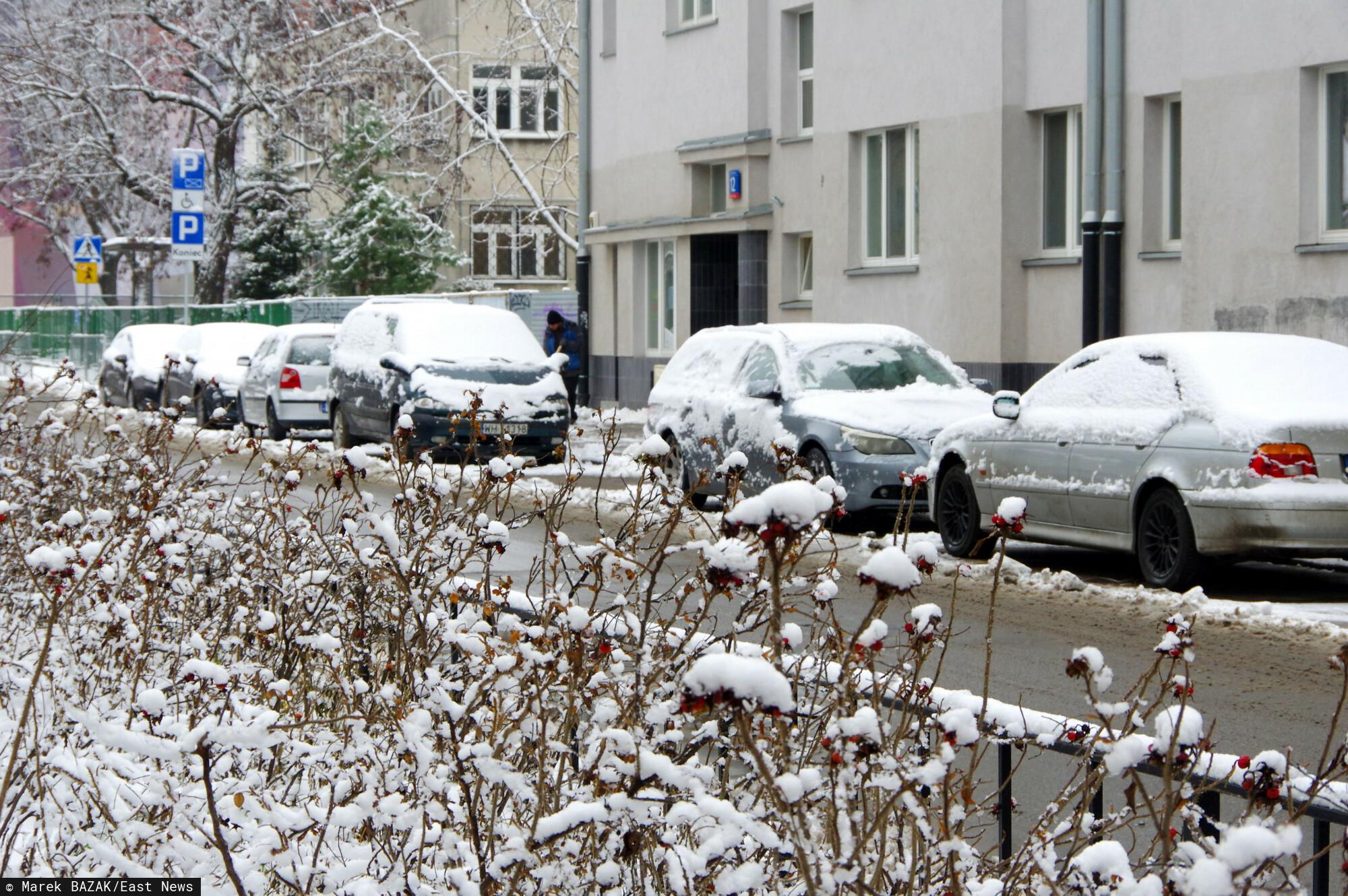 Zima na Mazowszu