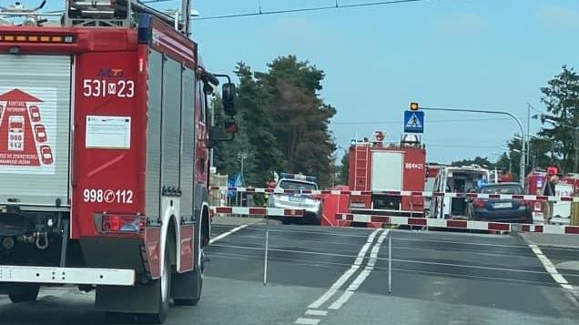 Wypadek w Pomiechówku