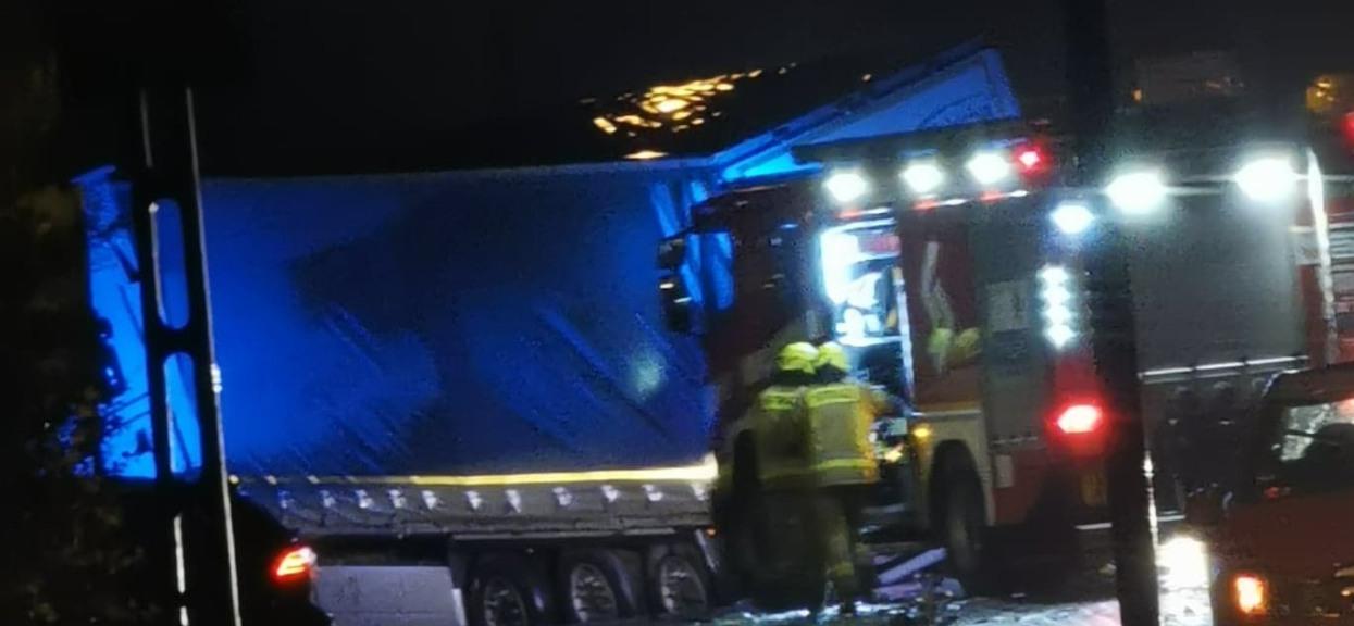 Wypadek w Coniewie skończył się śmiercią kierowcy.