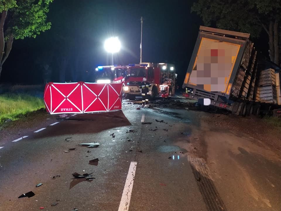 tragiczny wypadek na drodze krajowej numer 60