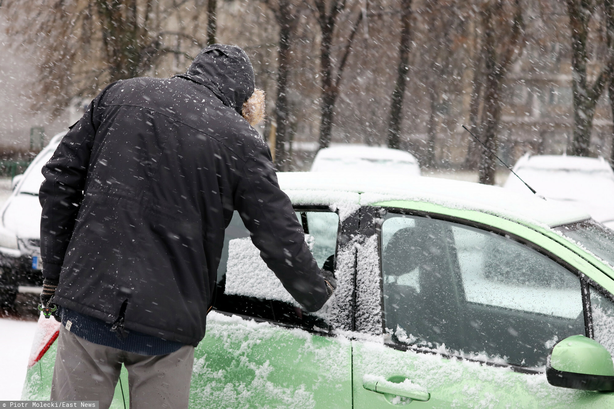 W weekend opady deszczu ze śniegiem i śniegu