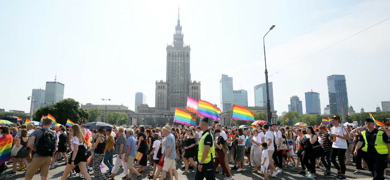 19 czerwca ulicami Warszawy przejdzie Parada Równości