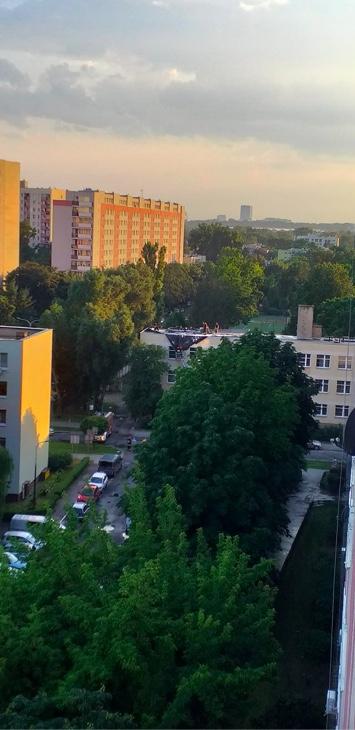 Akcja strażaków na Pradze-Południe