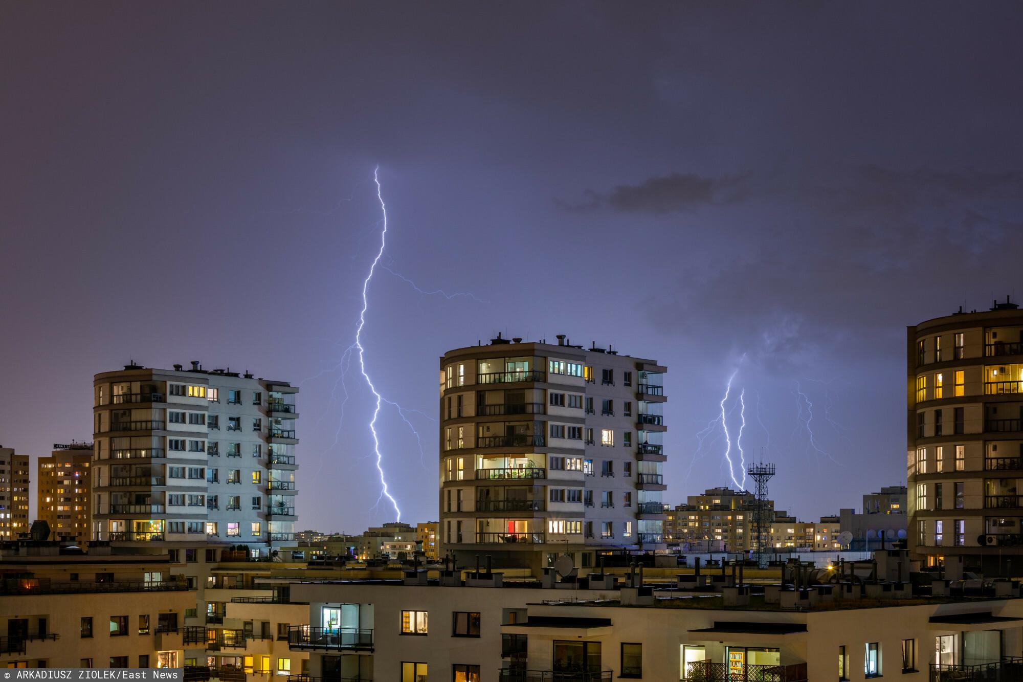 Burza na Mazowszu