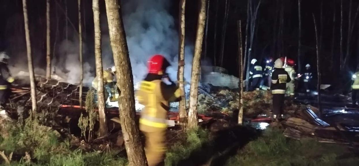 W Budach Michałowskich doszło do pożaru stadniny koni.