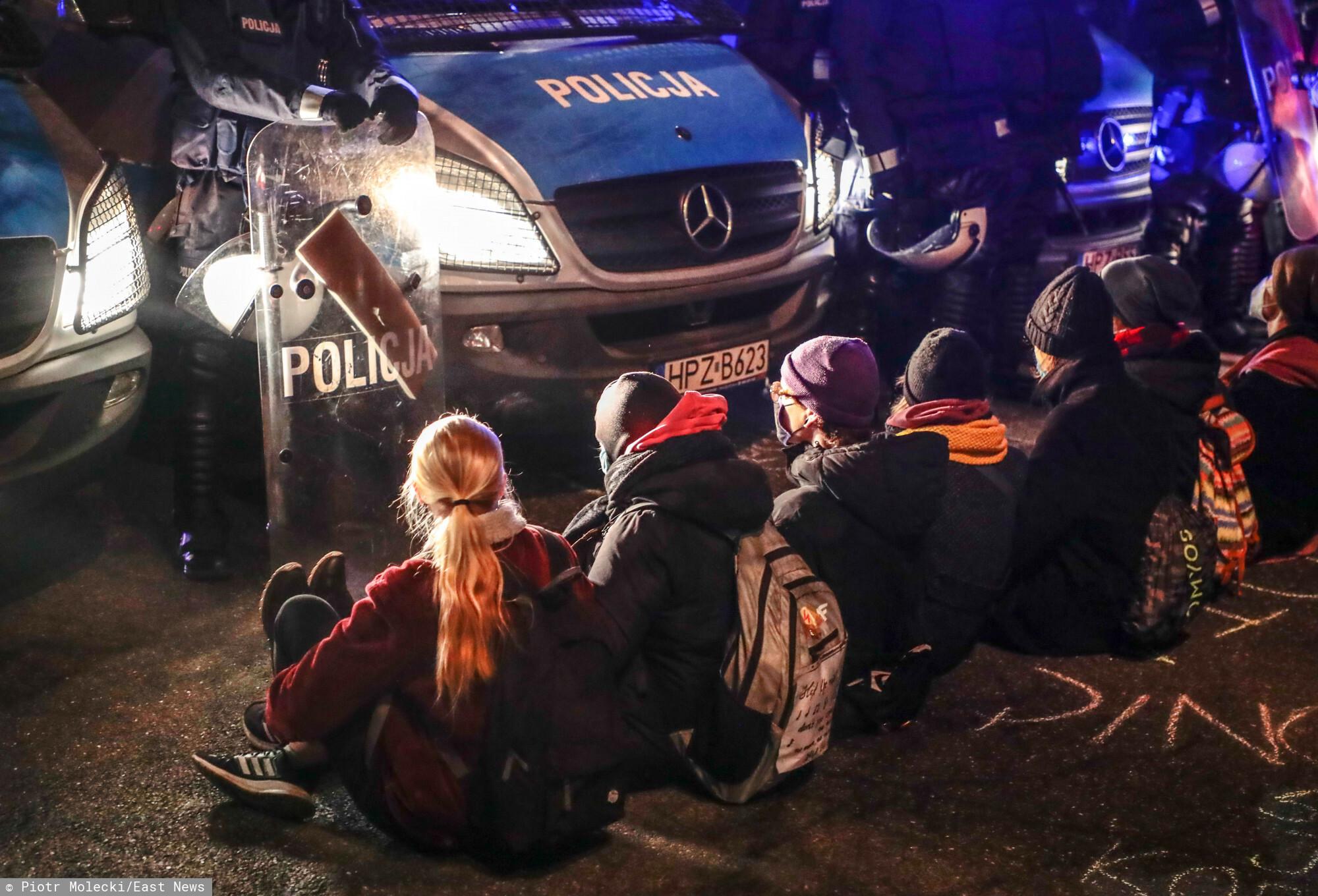 W Warszawie trwa strajk klimatyczny.