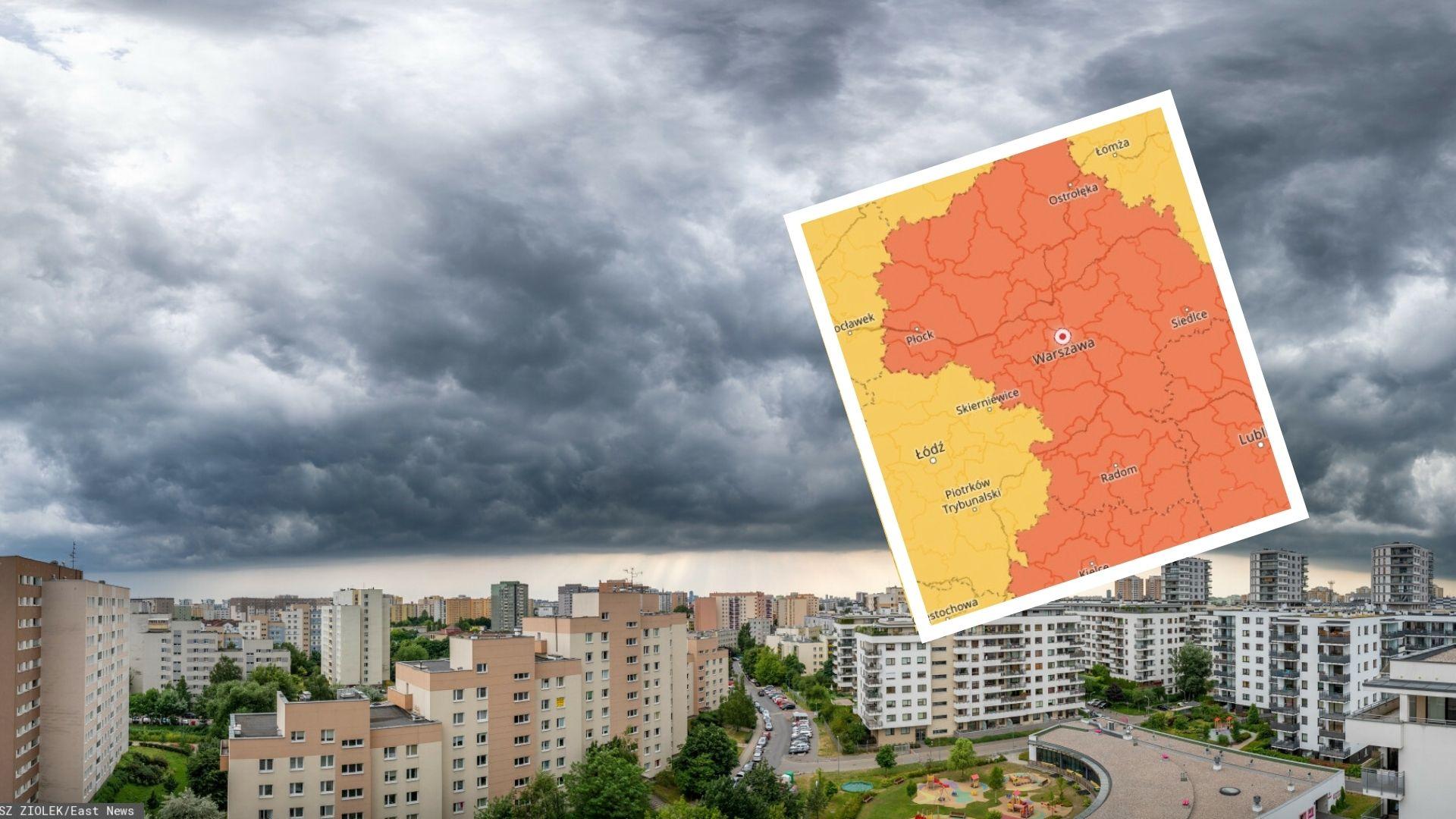 Prognoza pogody na nadchodzący tydzień ponownie przynosi ze sobą burze i upały