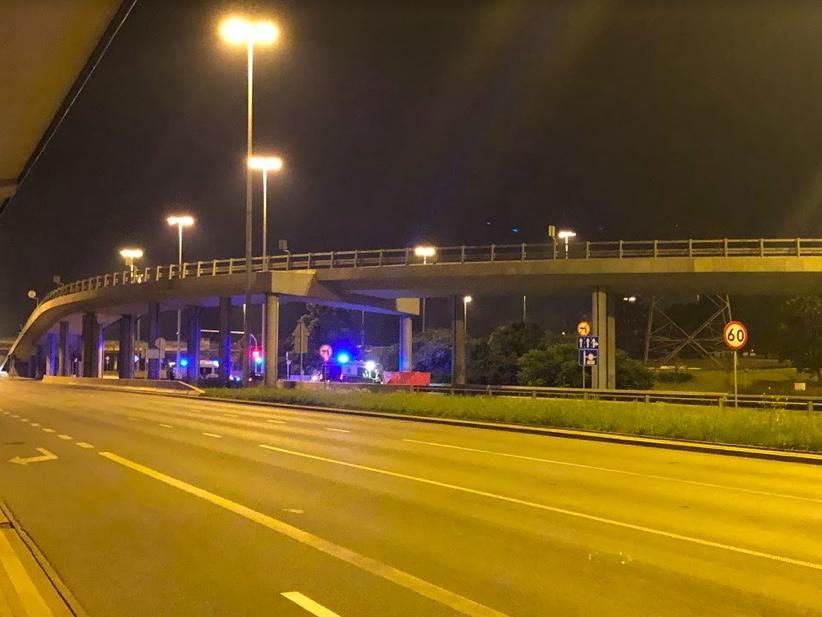 Na ulicy Modlińskiej doszło do śmiertelnego wypadku z udziałem motocyklisty