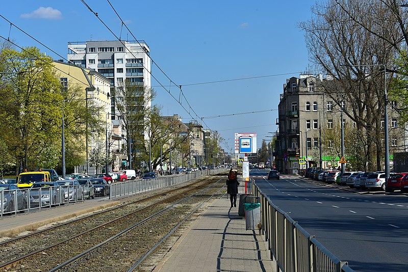 Kolizja na skrzyżowaniu Grochowskiej z Lubelską