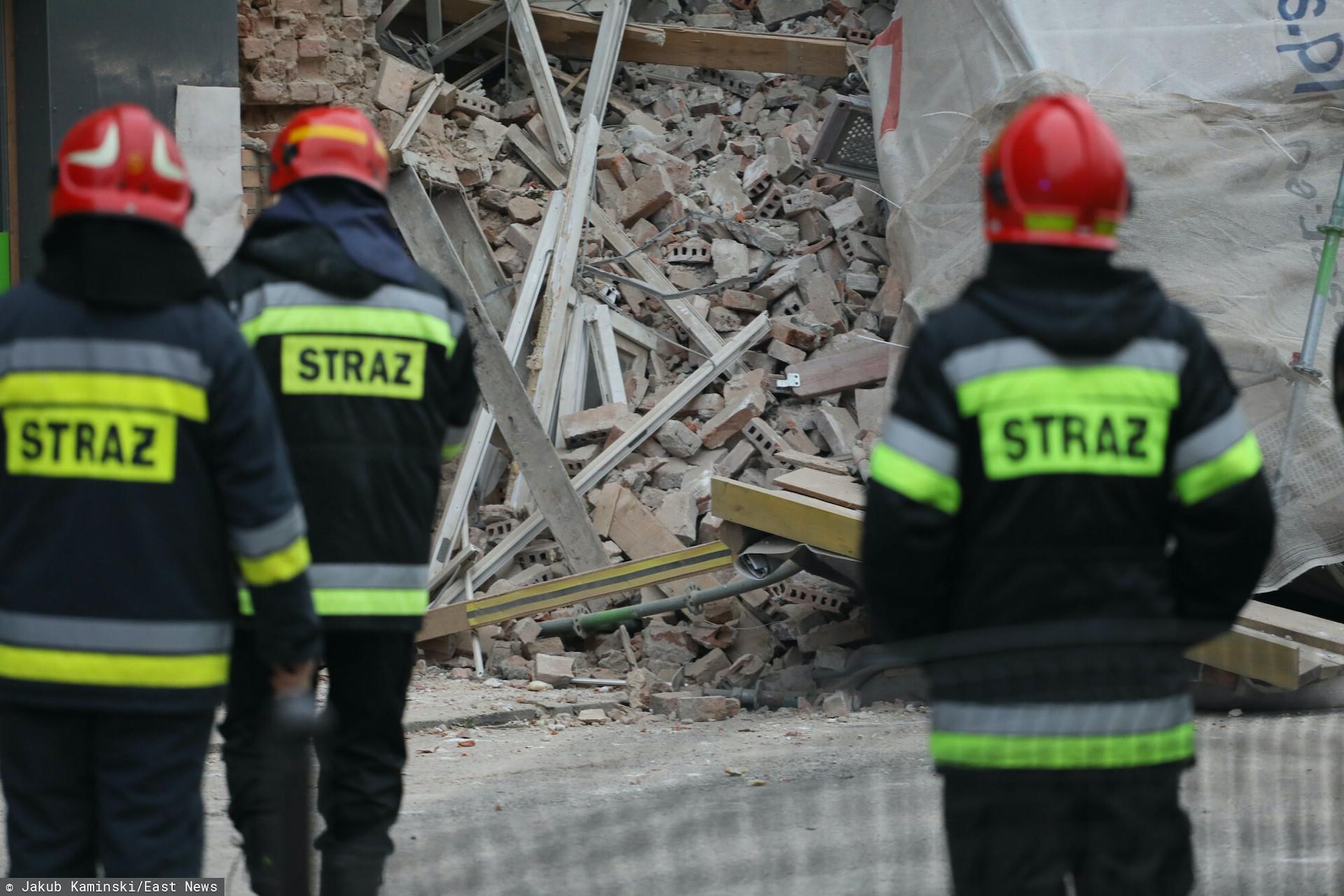 Na Pradze zawalił się budynek dawnej kuźni