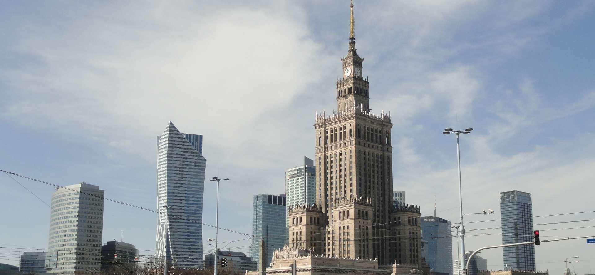 żółta strefa w Warszawie