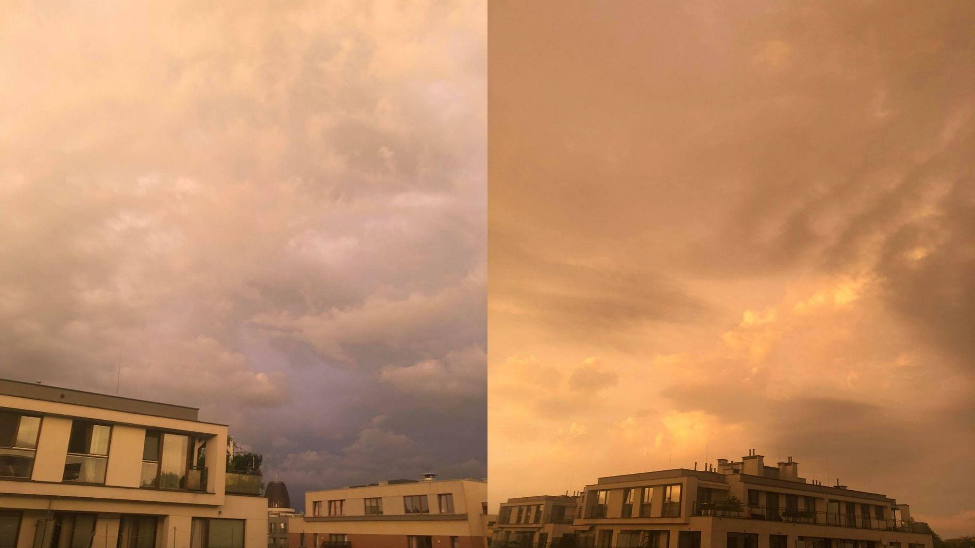 Żółte niebo