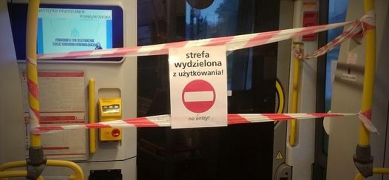 Od poniedziałku nie obowiązują wydzielone strefy w transporcie publicznym.
