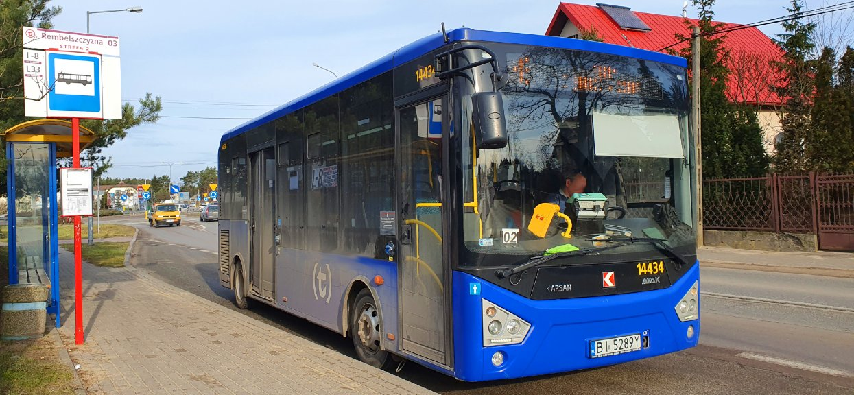 Do zdarzenia doszło w autobusie linii L8.