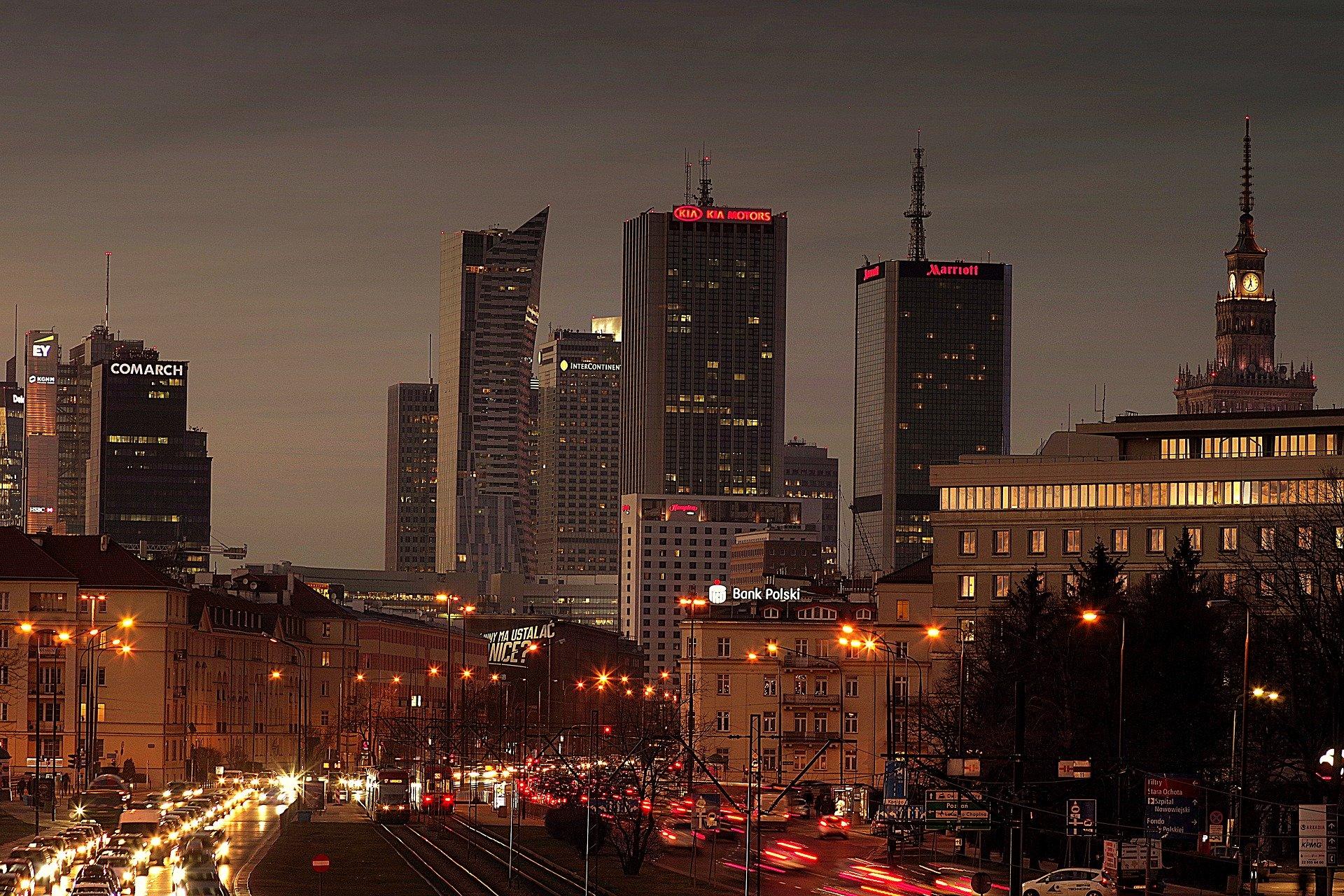 Wymiana latatni w Warszawie