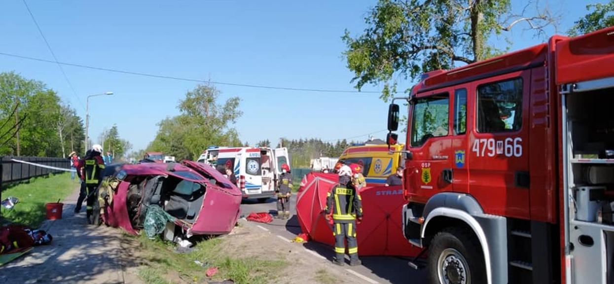 śmiertelny wypadek na DW631