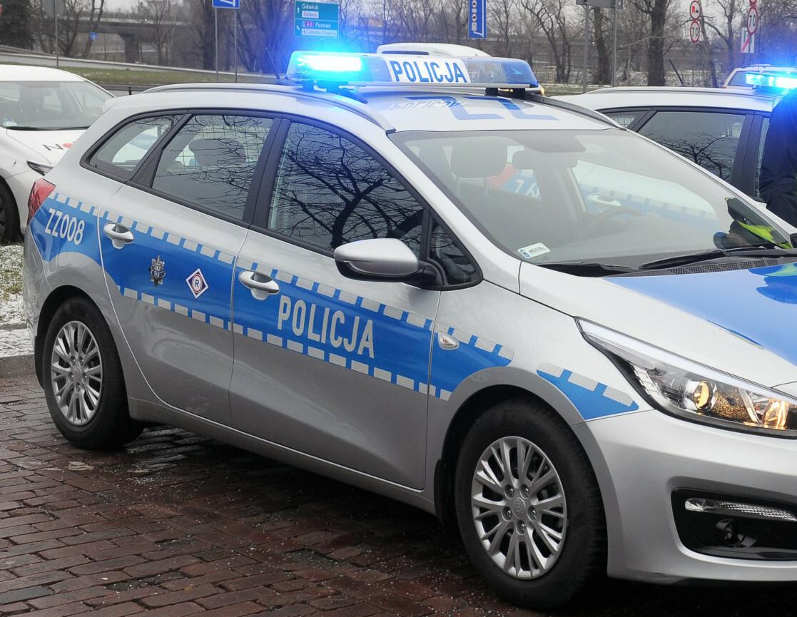 Patrol drogowy policji