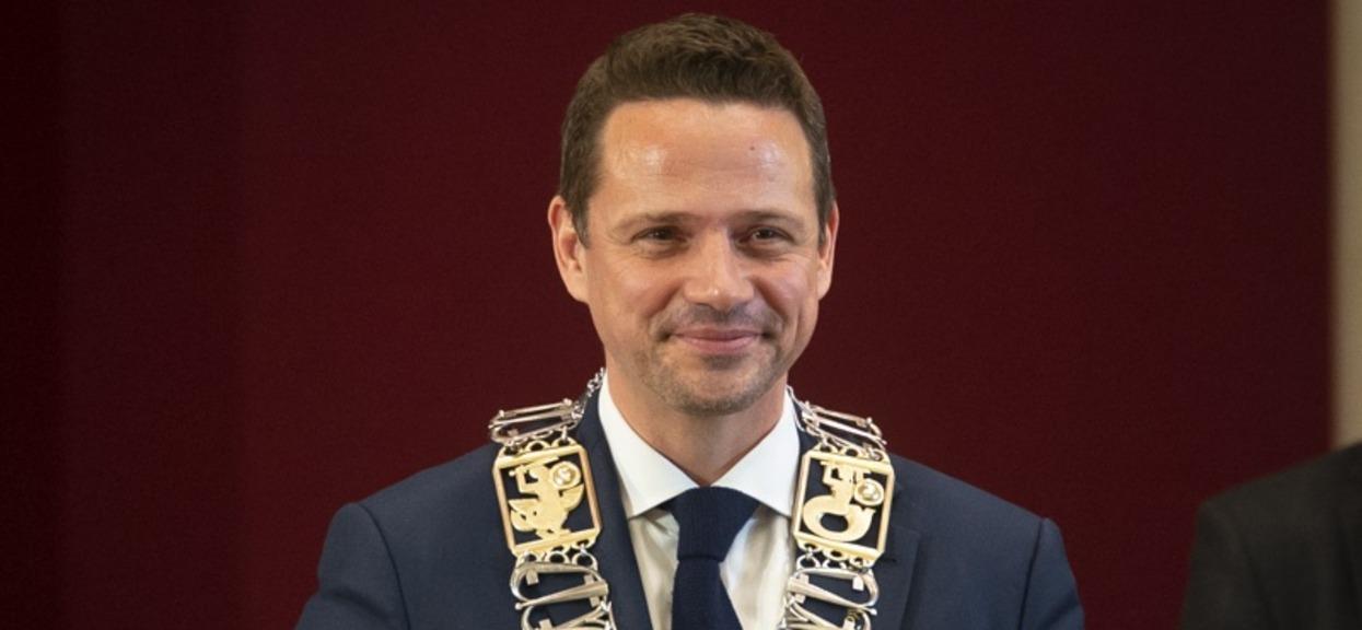 Rafał Trzaskowski w Polsacie