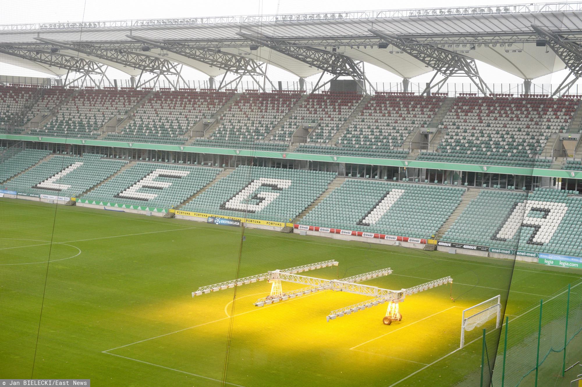 Stadion Legii Warszawa, ul. Łazienkowska