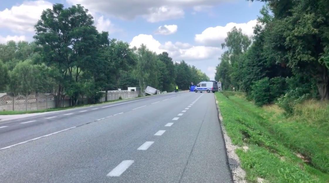 Do wypadku w Grębiszewie wezwano Żandarmerię Wojskową