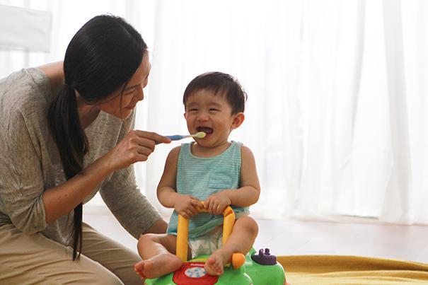 Mehr Spaß beim Zähneputzen für Eltern & Baby