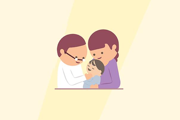 Was tun, wenn ein Zahn meines Babys beschädigt ist?